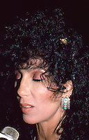 Cher 1986 NYC by Jonathan Green