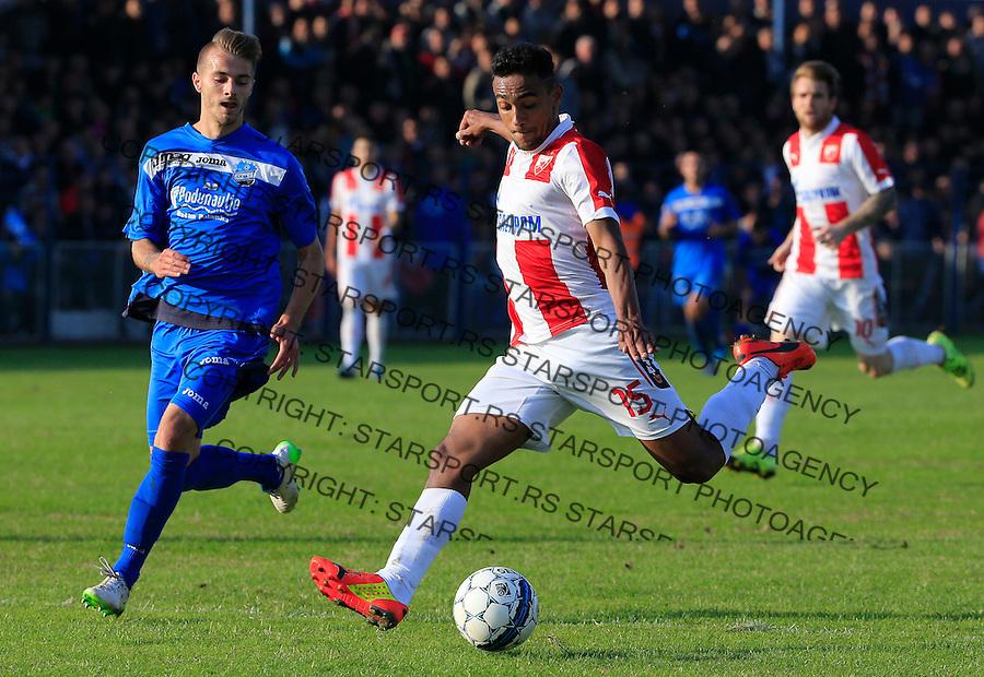 Fudbal Kup Srbije season 2015-2016<br /> Backa v Crvena Zvezda (R)<br /> Bruno Oliveira de Matos<br /> Backa Palanka, 28.10.2015.<br /> foto: Srdjan Stevanovic/Starsportphoto&copy;