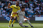 Real Madrid's Carlos Henrique Casemiro and Villarreal CF's Chukwueze during La Liga match between Real Madrid and Villarreal CF at Santiago Bernabeu Stadium in Madrid, Spain. May 05, 2019. (ALTERPHOTOS/A. Perez Meca)
