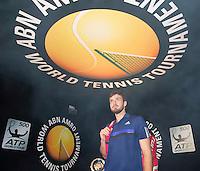 Februari 09, 2015, Netherlands, Rotterdam, Ahoy, ABN AMRO World Tennis Tournament, Ernest Gulbis (LAT) <br /> Photo: Tennisimages/Henk Koster