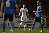 Edward Williams Of England C and Kidderminster Harries FC during England C vs Estonia Under-23, International Friendly Match Football at The Breyer Group Stadium on 10th October 2018