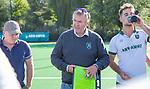 ROTTERDAM- Tilburg-Rotterdam . coach Albert Kees Manenschijn (Rdam) met assistent Kai de Jager . rechts oa Tristan Algera,  ABN AMRO CUP 2019 COPYRIGHT KOEN SUYK.