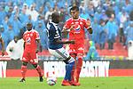 Millonarios venció 3-1 a América. Fecha 6 Liga Águila I-2018.