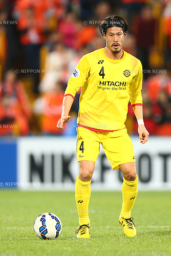 Daisuke Suzuki (Reysol),<br /> MARCH 17, 2015 - Football / Soccer : <br /> AFC Champions League Group E <br /> match between Kashiwa Reysol 2-1 Shandong Luneng FC <br /> at Hitachi Kashiwa Stadium, Chiba, Japan.<br /> (Photo by AFLO SPORT)