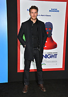 Jonas Bloquet at the premiere for &quot;Game Night&quot; at the TCL Chinese Theatre, Los Angeles, USA 21 Feb. 2018<br /> Picture: Paul Smith/Featureflash/SilverHub 0208 004 5359 sales@silverhubmedia.com