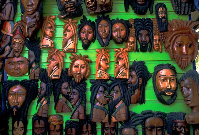 Craft market on Harbour Street, Montego Bay, Jamaica