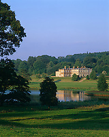 View across the lake to Baronscourt situated in a beautiful wooded valley