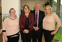 Linda Tierney, Mildred Carroll, Hugh Farrell and Josephine Carroll at the opening of the Irish Wheelchair Association new Community Centre at The Reeks Gateway, Killarney on Friday.   Picture: macmonagle.com