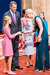 Princess of Asturias Leonor gives medal of Princess of Asturias Awards to Lindsey Vonn in Oviedo. October 18, 2019 (Alterphotos/ Francis Gonzalez)
