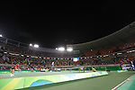 General view, <br /> AUGUST 6, 2016 - Tennis : <br /> Women's Singles  <br /> at Olympic Tennis Centre <br /> during the Rio 2016 Olympic Games in Rio de Janeiro, Brazil. <br /> (Photo by Sho Tamura/AFLO SPORT)