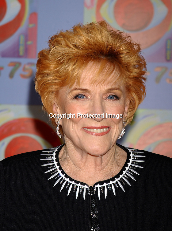 ..Jeanne Cooper of The Young and the restless..at CBS's 75th Anniversary at The Hammerstein Ballroom in ..New York City on November 2, 2003. Photo by Robin Platzer, Twin Images