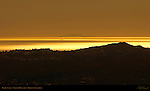 Pacific Sunset, Verdugo Mountains, Burbank, California
