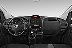 Stock photo of straight dashboard view of a 2013 Toyota PROACE COMFORT 5 Door Combi Dashboard
