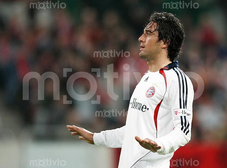 FUSSBALL     1. BUNDESLIGA     SAISON 2007/2008 Luca TONI (FC Bayern Muenchen)