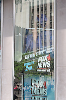NEW YORK, NY - JULY 6:  FOX News personnel removing the poster of Gretchen Carlson at FOX News headquarters following the announcement of Carlson's lawsuit against FOX News CEO Roger Ailes for sexual harassment  in New York, New York on July 6, 2016.  Photo Credit: Rainmaker Photo/MediaPunch