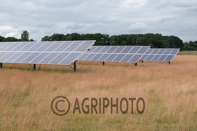 Solar panels on a poultry farm<br /> Picture Tim Scrivener 07850 303986<br /> ….Covering agriculture in the UK….