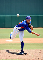 Justin Bristow / AZL Cubs..Photo by:  Bill Mitchell/Four Seam Images