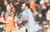Picture by Allan McKenzie/SWpix.com - 11/02/2018 - Rugby League - Betfred Super League - Castleford Tigers v Widnes Vikings - the Mend A Hose Jungle, Castleford, England - Greg Burke.