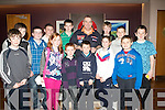 "YOUNG SUPPORT: The young darts supporters with 15 time's world darts champion Phil ""The Power"" Taylor at the Causeway community Festive Lighting Darts Exhibition at the Ballyroe Heights hotel on Sunday."