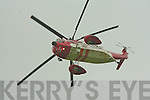 The Irish Coast Guard Rescue Helicopter at the Ardfert Festival