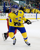 Martin Karlsson (Sweden - 11) - Sweden defeated the Czech Republic 4-2 at the Urban Plains Center in Fargo, North Dakota, on Saturday, April 18, 2009, in their final match of the 2009 World Under 18 Championship.