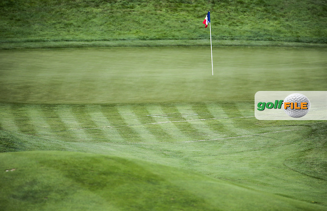 7th green during the Wednesday Pro-Am ahead of the 100th Open de France, played at Le Golf National, Guyancourt, Paris, France. 29/06/2016. Picture: David Lloyd | Golffile.<br /> <br /> All photos usage must carry mandatory copyright credit (&copy; Golffile | David Lloyd)