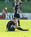 Fraserburgh's Ryan Cowie is distraught at full time after being dumped out of the Scottish Cup.