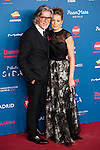 Alberto Cerdan and Carola Tarrago attends to the photocall of the Gala Sida at Palacio de Cibeles in Madrid. November 21, 2016. (ALTERPHOTOS/Borja B.Hojas)
