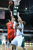 Eastern Michigan University Men's Basketball team defeated BGSU at EMU.