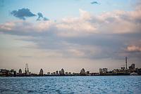 Thames Barrier, East London, England