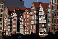 Deutschland, Hamburg, Häuser am Nicolai-Fleet
