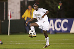 14 November 2008: Wake Forest's Ike Opara. The University of Virginia defeated Wake Forest 3-2 in two overtimes at WakeMed Stadium at WakeMed Soccer Park in Cary, NC in a men's ACC tournament semifinal game.