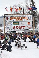 Ken Anderson Willow restart Iditarod 2008.