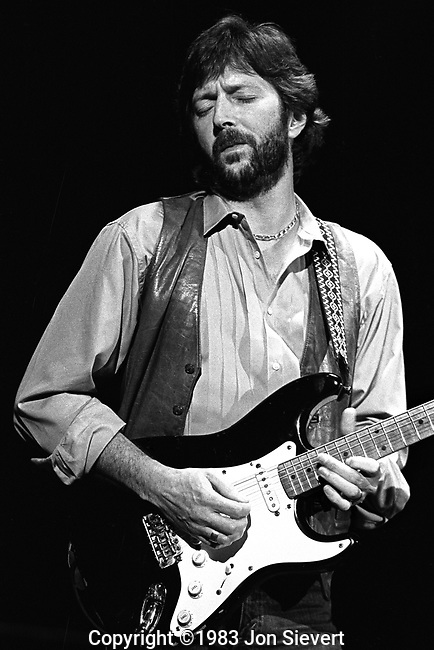 Eric Clapton, 2/7/83, Cow Palace, San Francisco
