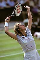 Chris Evert (USA) Wimbledon 1988 copyright Michael Cole