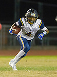 Lawndale, CA 10/07/16 - Kayden Thomas (Santa Monica #4) in action during the CIF Bay League game between Santa Monica and Lawndale.
