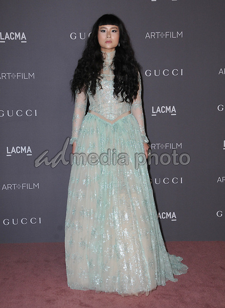 04 November  2017 - Los Angeles, California - Asia Chow. 2017 LACMA Art+Film Gala held at LACMA in Los Angeles. Photo Credit: Birdie Thompson/AdMedia