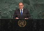 72 General Debate &ndash; 20 September <br /> <br /> <br /> by His Excellency Rumen Radev, President of the Republic of Bulgaria