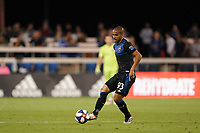 SAN JOSE, CA - JULY 16: Judson #93 of the San Jose Earthquakes during a friendly match between the San Jose Earthquakes and Real Valladolid on July 16, 2019 at Avaya Stadium in San Jose, California.