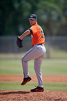 Miami Marlins pitcher Zac Gallen (27) during a Minor League Spring Training game against the St. Louis Cardinals on March 26, 2018 at the Roger Dean Stadium Complex in Jupiter, Florida.  (Mike Janes/Four Seam Images)