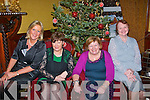 Tralee gals l-r: Marie Rael, Mary Moynihan, Ann Griffin and Phyllis Kane had great fun celebrating Women's Christmas last Friday night in the Grand hotel.
