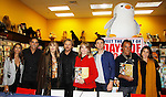 """Cast of Days Of Our Lives -  Kristian Alfonso, Galen Gering, Stephen Nichols, Lauren Koslow, Diedre Hall, Eddie Flynn, Kate Mansi, Thaao Penghlis sign book """"Days Of Our Lives 50 Years"""" by Greg Meng - author & co-executive producer on October 27, 2015 at Books & Greetings, Northvale, New Jersey. (Photo by Sue Coflin/Max Photos)"""