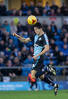 Luke O'Nien of Wycombe Wanderers in action during the Sky Bet League 2 match between Wycombe Wanderers and Oxford United at Adams Park, High Wycombe, England on 19 December 2015. Photo by Andy Rowland.