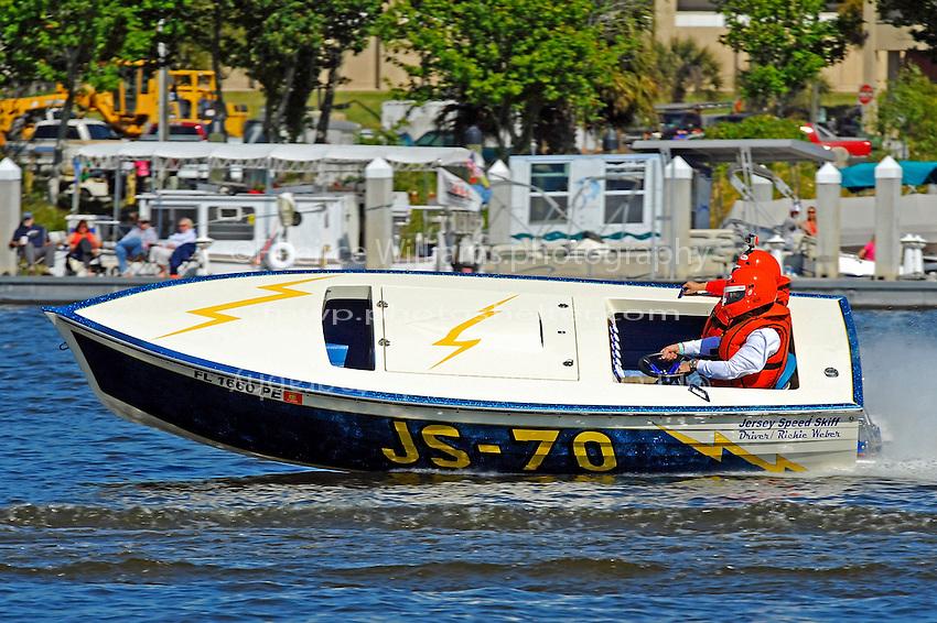 "Richie Weber, JS-70 ""Daze of Thunder"" (Jersey Speed Skiff)"