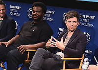 "BEVERLY HILLS - SEPTEMBER 13:  The ""Ghosted"" panel at the 2017 PaleyFest Fall TV Previews - FOX - ""Ghosted"" at the Paley Center for the Media on September 13, 2017 in Beverly Hills, California. (Photo by Scott Kirkland/PictureGroup)"
