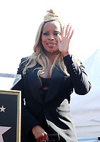 HOLLYWOOD, CA - JANUARY 11: Mary J. Blige, at Mary J. Blige Is Honored With A Star On The Hollywood Walk of Fame at On The Hollywood Walk of Fame in Hollywood, California on January 11, 2018. <br /> CAP/ADM/FS<br /> &copy;FS/ADM/Capital Pictures