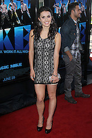 Kathryn McCormick at the premiere of 'Magic Mike' at the closing night of the 2012 Los Angeles Film Festival held at Regal Cinemas L.A. Live on June 24, 2012 in Los Angeles, California. © mpi25/MediaPunch Inc. /NORTEPHOTO.COM<br />