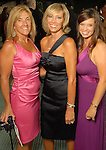 AMy Simmons, Renee Imparato and Theresa Bass at the Astros Wives Gala at Minute Maid Park Thursday Aug. 06, 2009.(Dave Rossman/For the Chronicle)