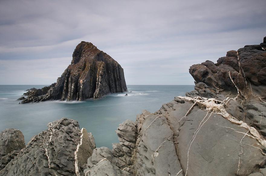 Ponta Atalaia, North of Arrifana beach. Southwest Alentejo and Vicentine Coast Natural Park, Portugal.