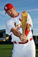 Mar 01, 2010; Jupiter, FL, USA; St. Louis Cardinals outfielder Nick Stavinoha (34) during  photoday at Roger Dean Stadium. Mandatory Credit: Tomasso De Rosa/ Four Seam Images